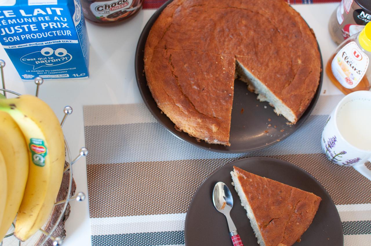Recette gâteau à la banane kisoulou