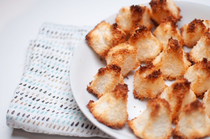 Recette facile de Rochers Coco, Congolais à la noix de  Coco