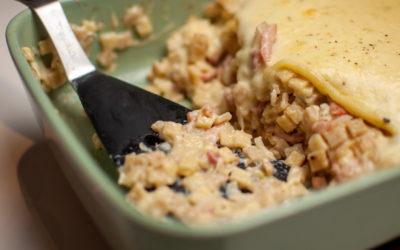 La recette de Croziflette au Reblochon Facile, Gourmande qui fait saliver
